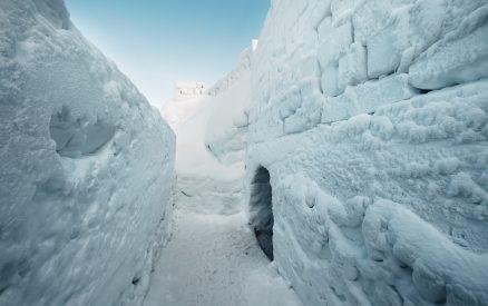 Mayville Ice Castle